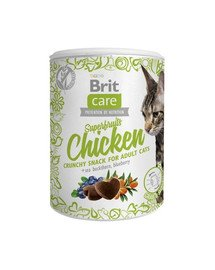 Care Cat Snack Superfruits Chicken 100g