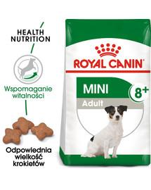 Mini Adult 8+ 8 kg karma sucha dla psów starszych od 8 do 12 roku życia, ras małych