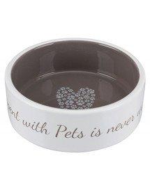Miska ceramiczna Pet's Home, 300 ml/o 12 cm