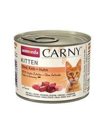 Carny kitten cielęcina kurczak 0.2 kg