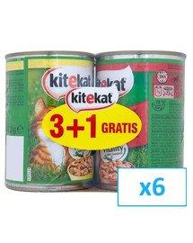 Kurczak/wołowina 4 x 0.4 kg x6