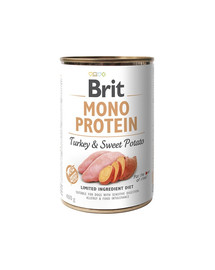 Mono protein turkey & sweet potato 400g
