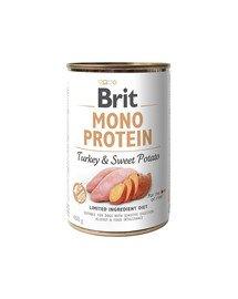 Mono protein turkey & sweet potato 400g