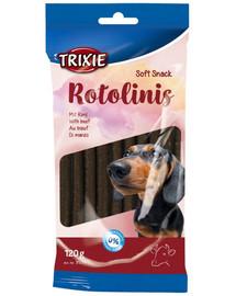 Pałeczki dla psa z wołowiny rotolinis 12 szt. / 120 g