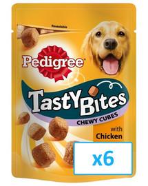 Tasty bites chewy cubes 6 x 130 g