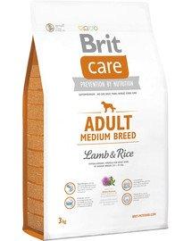 Care Adult Medium Breed lamb & rice 3 kg