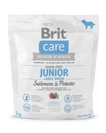 Care Grain-Free Junior Large Breed salmon & potato 1 kg