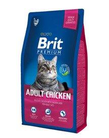 Premium Cat Adult kurczak 8 kg