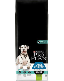 PRO PLAN Large athletic adult sensitive digestion OptiDigest jagnięcina 14 kg