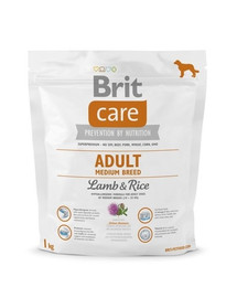 Care Adult Medium Breed lamb & rice 1 kg