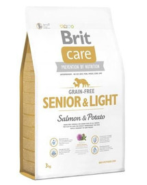 Care Grain-Free Senior salmon & potato 3 kg