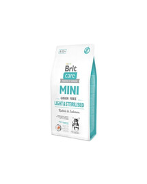 Care Grain Free Mini light & sterilised  2 kg