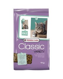 Classic cat variety 4 kg