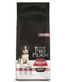 PRO PLAN Medium puppy sensitive skin 12 kg