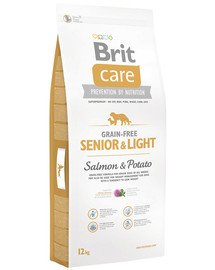 Care Grain-Free Senior salmon & potato 12 kg
