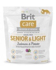 Care Grain-Free Senior salmon & potato 1 kg
