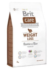 Care Weight Loss rabbit & rice 3 kg