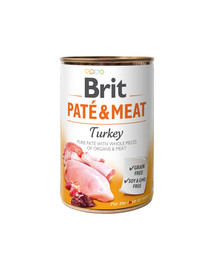 Pate & meat turkey 400 g