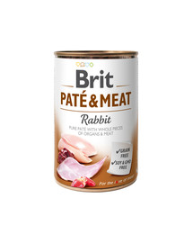 Pate & meat rabbit 400 g