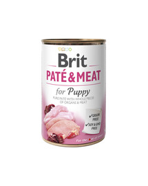 Pate & meat puppy chicken & turkey 400 g