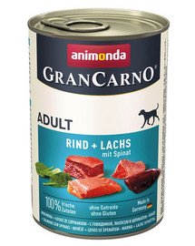 Grancarno rdzawiec i szpinak 400 g