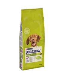 Dog Chow Adult jagnię˜cina 14 kg