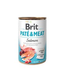Pate & meat salmon 400 g