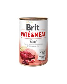 Pate & Meat beef 400 g