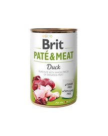 Pate & meat duck 400 g