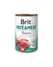 Pate & meat venison 400 g