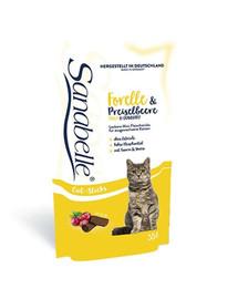 Sanabelle Snack pstrąg & borówka 55 g