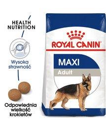 Maxi Adult 10 kg karma sucha dla psów dorosłych, do 5 roku życia, ras dużych
