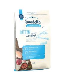 Sanabelle kitten drób 10 kg