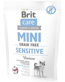 Care Dog Mini Grain-Free sensitive 400 g