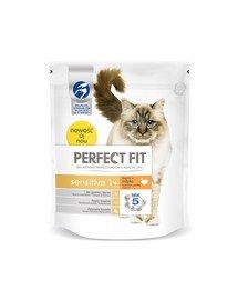 (Sensitive 1+) 750g Bogaty w indyka - sucha karma dla kotów z wrażliwym układem trawiennym