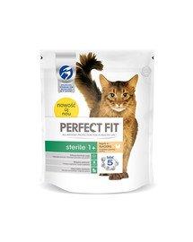 (Sterile 1+) 750g Bogaty w kurczaka - sucha karma dla kotów po sterylizacji