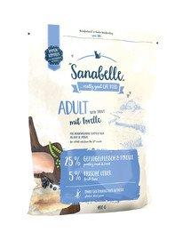 Sanabelle adult pstrąg 400 g