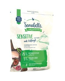 Sanabelle sensitive drób 400 g