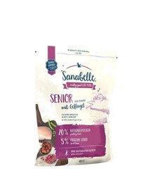 Sanabelle senior drób 400 g