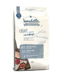 Sanabelle light drób 2 kg