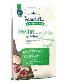 Sanabelle sensitive drób 10 kg