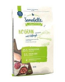 Sanabelle No grain drób 10 kg