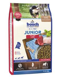 Junior jagnięcina z ryżem 3 kg