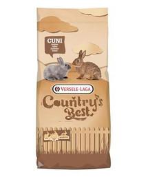 Cuni Fit plus podstawowy granulat dla królików z kokcydiostatykami 20 kg