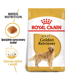 Golden retriever adult 12 kg