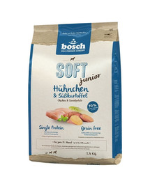 Soft junior kurczak & bataty 2.5 kg