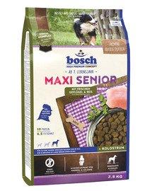 Maxi Senior drób i ryż 2,5 kg