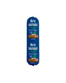 BRIT Sausage Chicken turkey & pea 800 g
