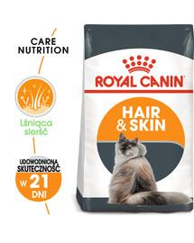 Hair&Skin Care 400 g karma sucha dla kotów dorosłych, lśniąca sierść i zdrowa skóra