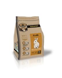 Korona Natury Mieszanka pełnoporcjowa dla królików 750 g